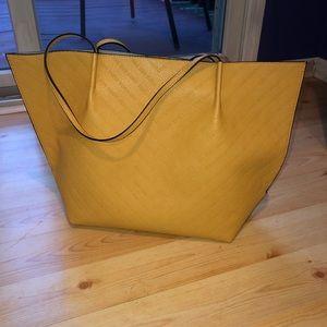 Steve Madden Yellow Tote Bag